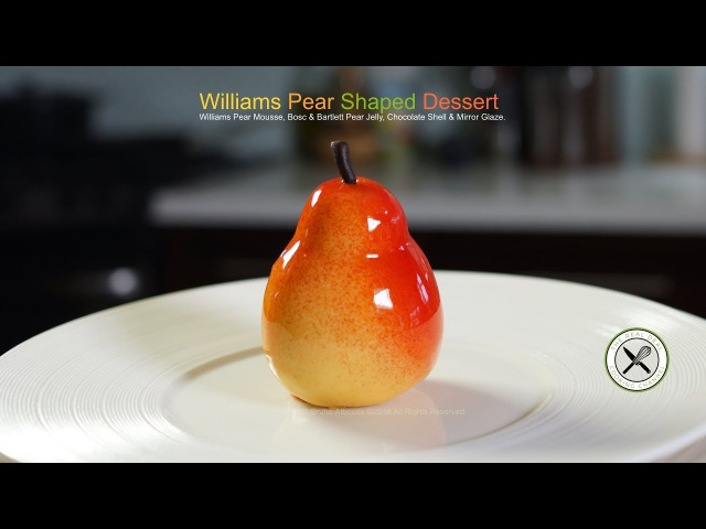 Williams Pear Shaped Dessert – Bruno Albouze – THE REAL DEAL