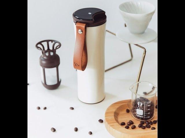 Xaiomi термос для кофе с фильтром и датчиком температуры