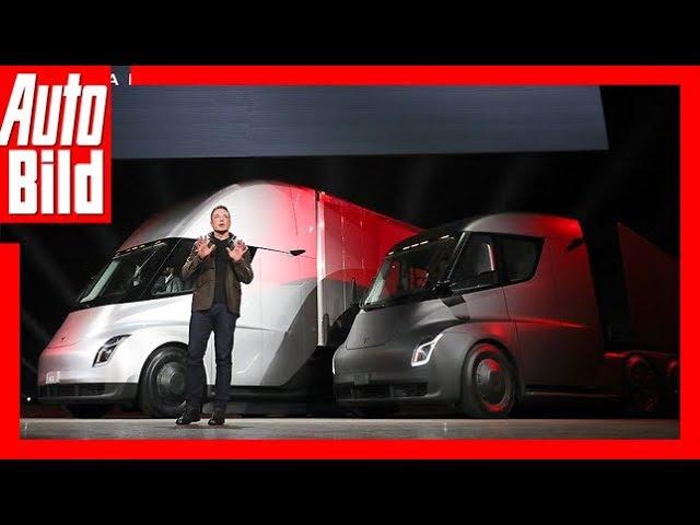 Tesla Truck (2019) Tesla-Truck mit Namen Semi /Details/Erklärung