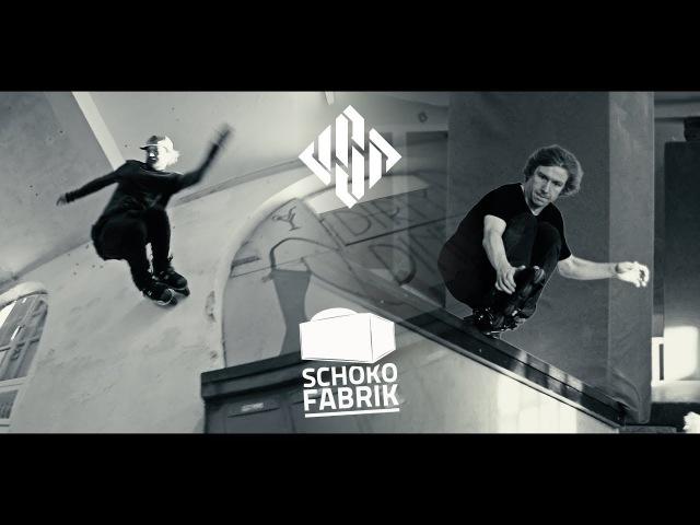 Schokofabrik - Eugen Enin Sam Crofts for USD Skates