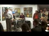 Саша и Сирожа - Концерт в галерее Свиное рыло