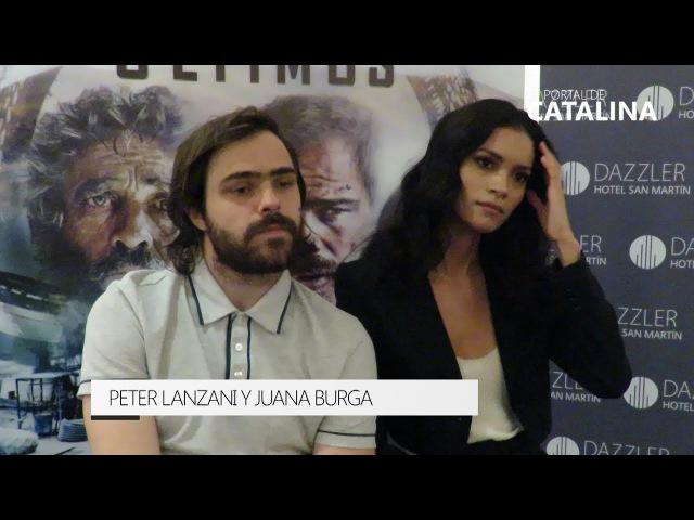 Peter Lanzani y Juana Burga hablan de