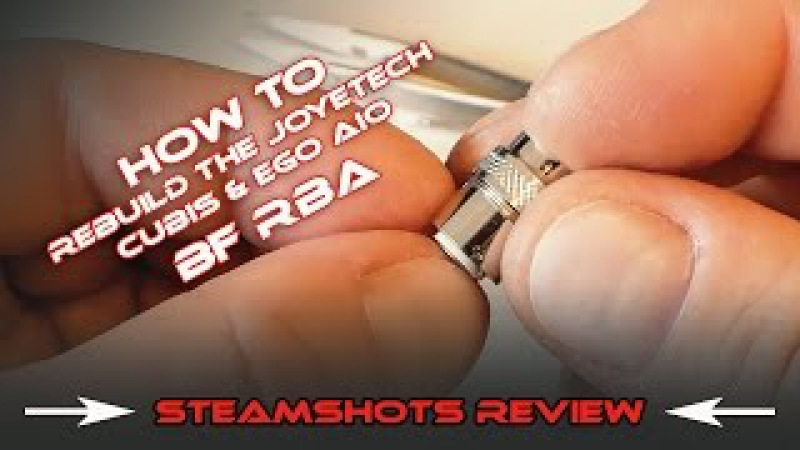 How to Rebuild the Joyetech Cubis eGo AIO BF RBA | Vertical Coil