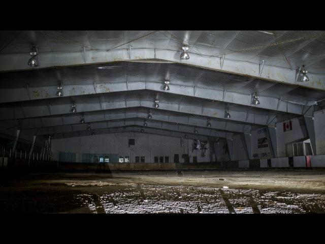 Abandoned Multi-million Dollar Hockey Arena Untouched