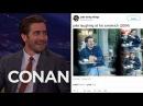 Jake Gyllenhaal Reacts To @JakeActivities CONAN on TBS