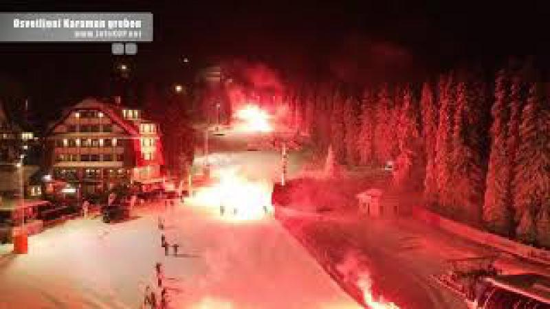 Svečano otvaranje osvetljenja na Karaman grebenu
