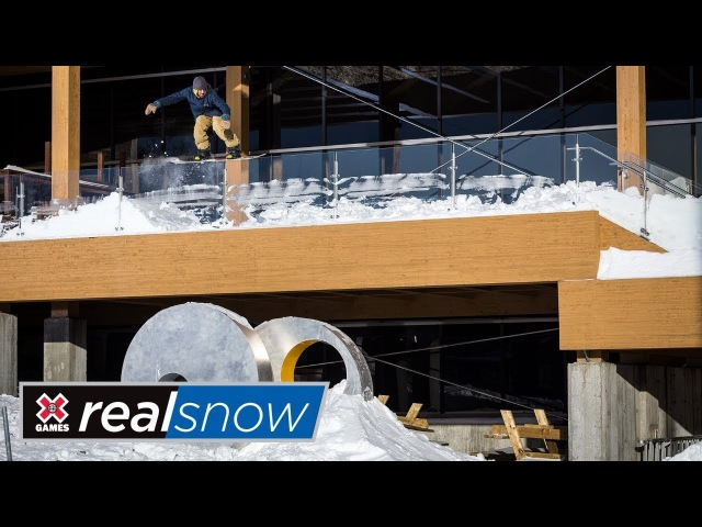 Ozzy Henning Real Snow 2018 | X Games
