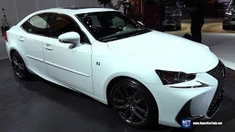 2018 Lexus IS 350 F Sport - Exterior and Interior Walkaround - 2018 Detroit Auto Show