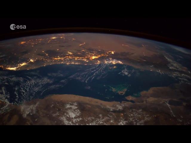 Падение метеорита сняли с МКС (ZHS)