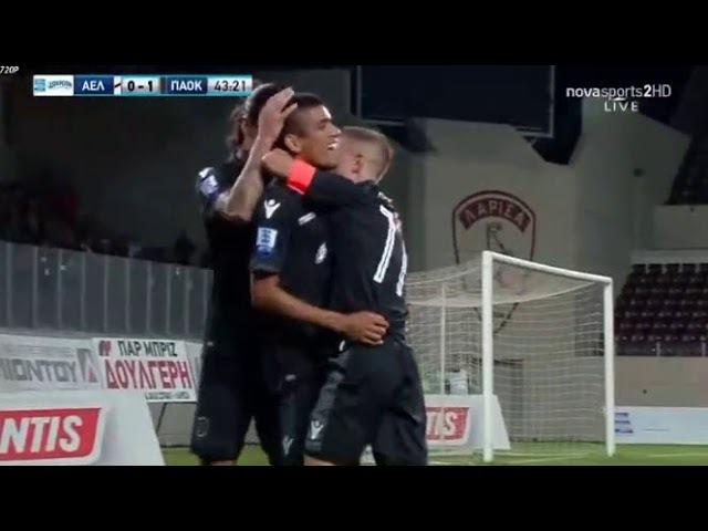 Leo Matos Goal HD - AEL Larissa 0-1 PAOK 30.09.2017