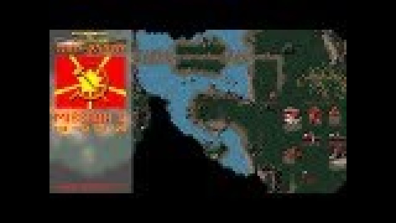 CC Red Alert - Soviet Mission 2 A - The Thin Red Line [Hard] 720p