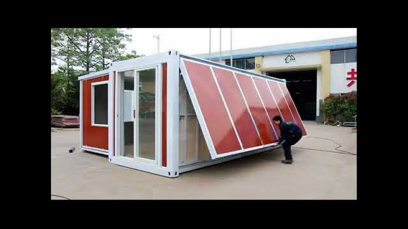China Expandable container house 10 minutes one house!