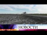 В Ростовской области во время учений боевые самолеты приземлились прямо на авто...