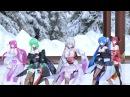 【MMD】一騎当千 / Ikkitousen【TYPE2020L着物風(Kimono style) Miku Teto Luka Gumi IA】