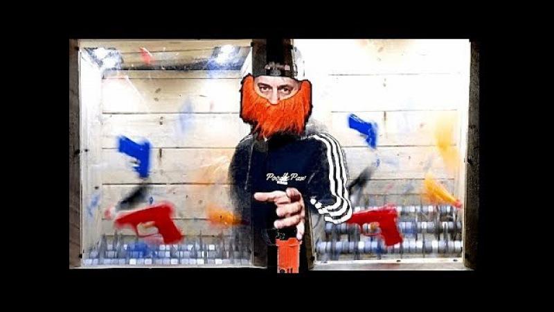 Break Squirt Guns- Angle Grinder Hack, Chainsaw Box Creation
