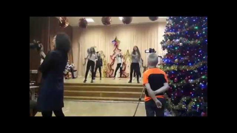 Танец на Новый Год. 9 К Гимназия №1583 им. Керимова.
