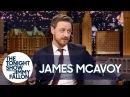 James McAvoy Stole a Pair of Elton John's Famous Glasses