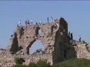 Руины цитадели Мангуп Кале в Крыму