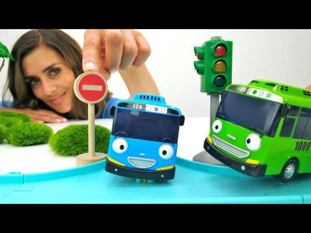 TAYO der BUS Toys 🚌 Wir machen Salat für die Spielzeugautos🥗Play Doh Video/Tayo der kleine Bus