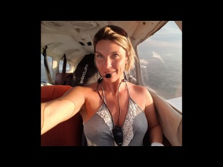 Gyrocopter Girl Flying in Florida Key West ATC & Audio 2017 05