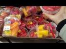 Зеленые бананы. Цены на продукты. Овощи и фрукты. Магазин Netto. Дания