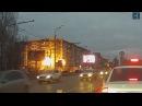 Момент взрыва и обрушения жилого дома в Ижевске 09.11.17