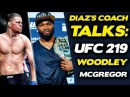 Nate Diazs Coach Tyron Woodley Fight Unlikely Because UFC Doesnt Want To Pay