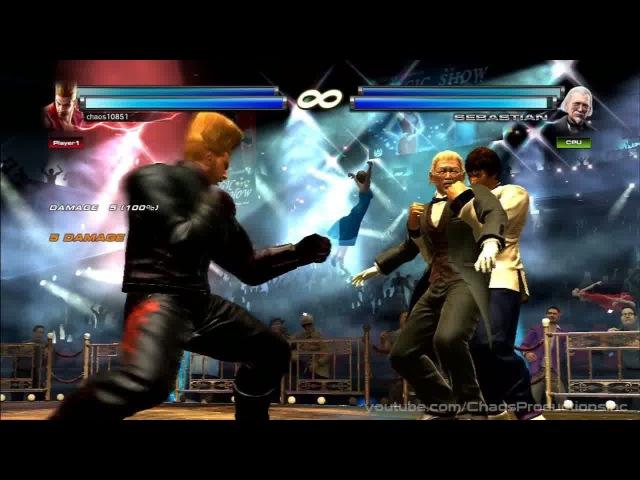 Tekken Tag Tournament 2 - Tag Throw Exhibition 2