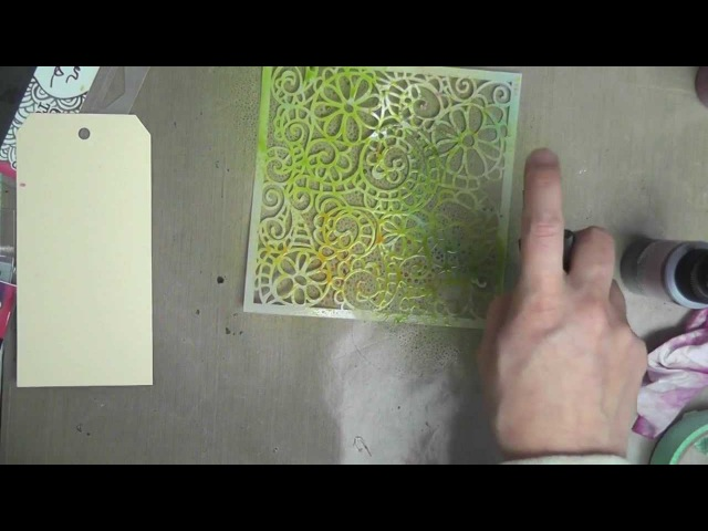 Lindy's 101 Tutorials - Spraying with Stencils