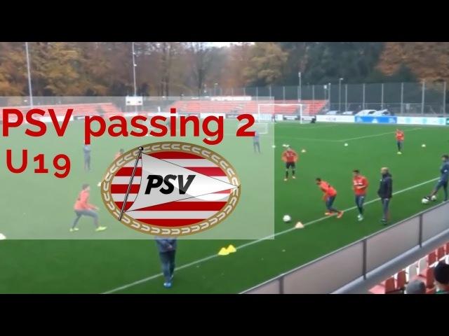 PSV Eindhoven U 19 passing 2