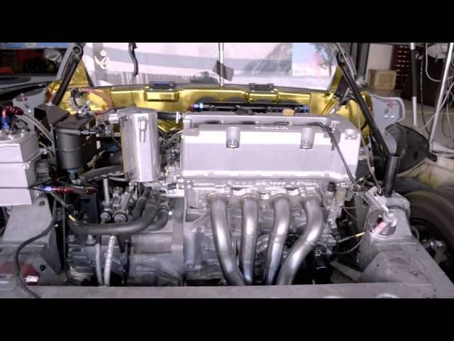 DRS Lotus Elise with Honda K20/24 swap