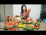 E23 Ms Yeah's watermelon Feast is ready. You lost the invitation  Ms Yeah