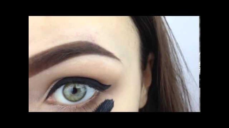 Как красить глаза Два варианта макияжа глаз