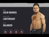 UFC 3 Create a Player Mode (Xbox One X 4K HDR 60FPS)