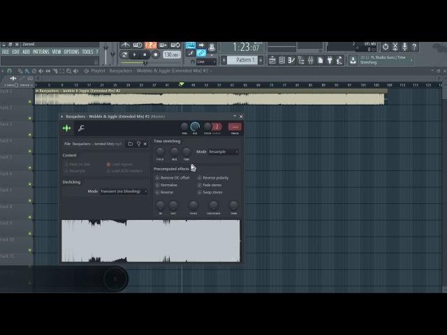 Как автоматизировать темп аудио, не изменяя питч в fl studio 12 (ZeronE)