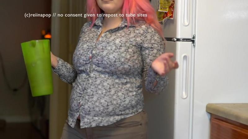 Feedee Gain Shake Belly