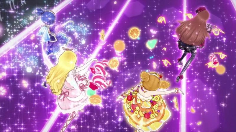 Aikatsu Episode 15 Trap of Love Hoshimiya Ichigo Kiriya Aoi Shibuki Ran Arisugawa Otome 1080p