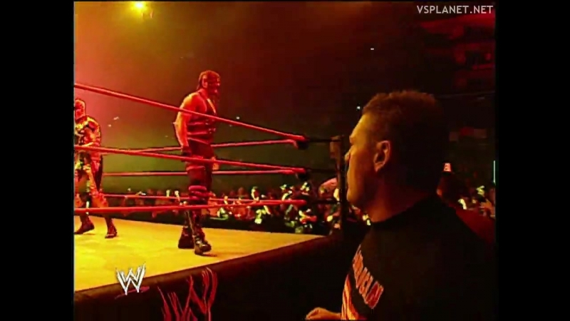 Booker T Goldust Kane Bubba Ray Dudley vs Un Americans Unforgiven 2002