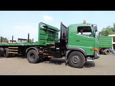 HINO SG with trailer 20 feet go to Kalimas