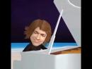 У рояля Анималиков Пьеса называется линия горизонта из моего альбома cafe safari 2015 год выпуска мультик анимация др