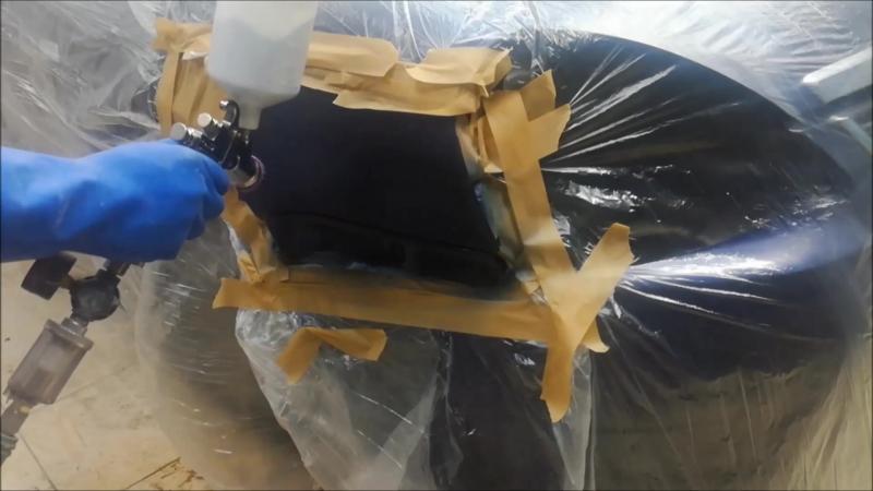 Покраска в переход под заводскую шагрень, под толщиномер,удаление вмятины без покраски