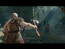 [1920x1080] God Of War PS4 Gameplay Shows Huge Differences From Previous Games