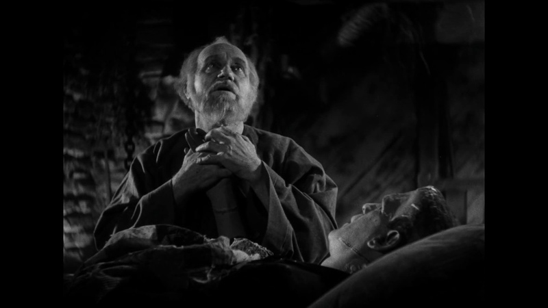 [Frankenstein's Monster meets the Blind Man - Bride of Frankenstein (1935)]