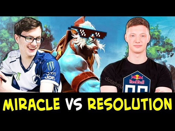 MIRACLE vs RESOLUTION — who carries team better?