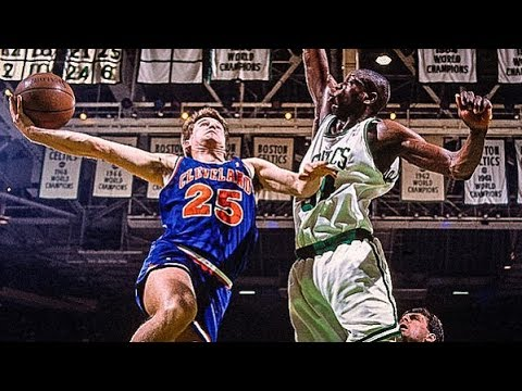 Cleveland Cavaliers vs Boston Celtics Full Game Highlights / Game 3 / 1992 NBA Playoffs