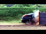 Crash Test Ford Focus 120 mph (190 kmh)