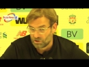 Jurgen Klopp laughs in reporters face in very spiky post-match interview