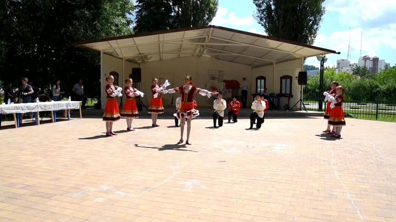 Руский народный танец 2 08.07.2018