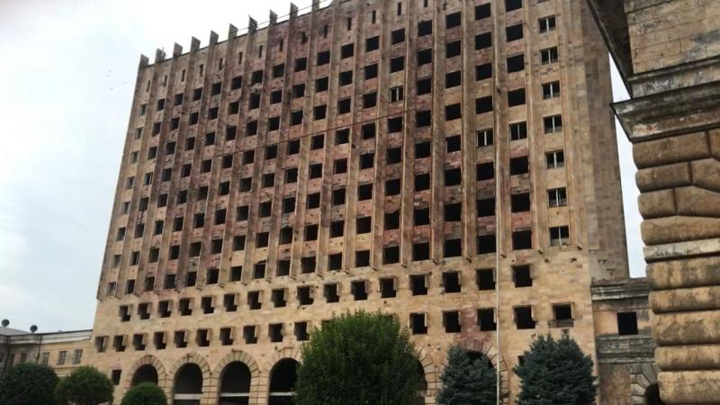 Заброшенное здание г Сухум Абхазия