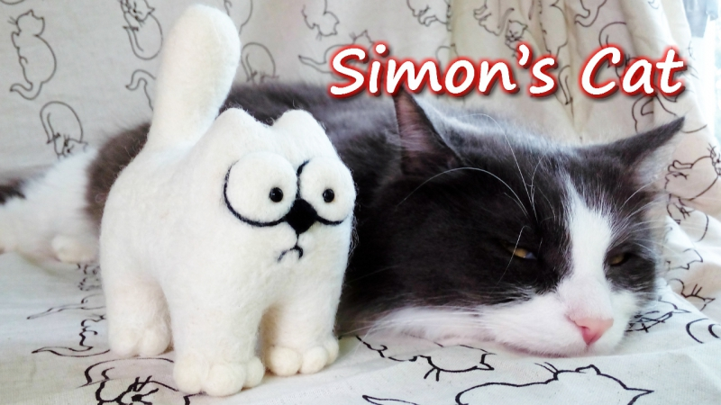 Simon's Cat кот саймона подарок